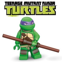 Minifigs Teenage Mutant Ninja Turtles (52 minifigs)