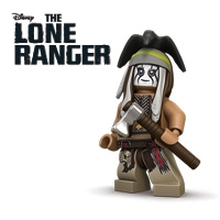 Minifigs The Lone Ranger (21 minifigs)