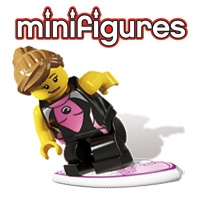 Minifigs Minifigures (384 minifigs)