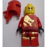Minifig njo009 : Kai DX (costume dragon)