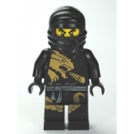 Minifig njo015 : Cole DX (costume dragon)