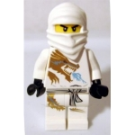 Minifig njo018 : Zane DX (costume dragon)