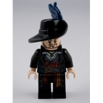 Minifig poc004 : Hector Barbossa