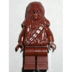Minifig sw011a : Chewbacca (brun rougeâtre)