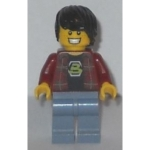 Minifig tlm041 : Fan de Blacktron